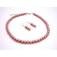 NS896  Fashion Jewelry For Everyone Wedding Pearls Jewelry Brick Pearls Jewelry Set