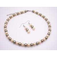 NS899  Sophisticate Pearls Jewelry Pistachu & Daffodil Prom All Typle Jewelry Set