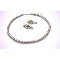 NS972  Best Women Jewelry In Unuique Pearls Color Pistachu Pearls Jewelry