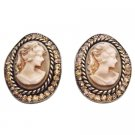 ERC668  A Beautiful Gift Idea For A Loved One Cameo Jewelry Earrings