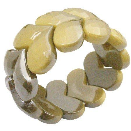 UBR243  Fashion Affordable Summerish Stretchable Bracelet Fancy Wear
