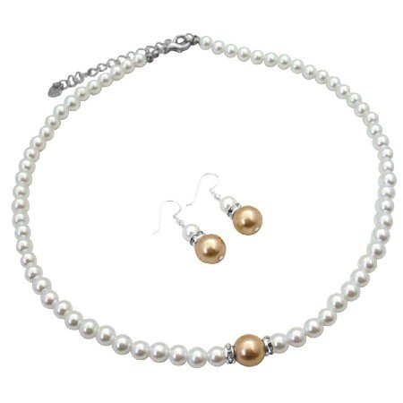 NS985  Absolutely Inexpensive Pearls Jewelry With Silver Rondells Sparkle Like Diamond