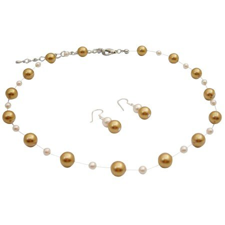BRD181  Customize Fashion Jewelry For Everyone Harvest Pearls Ivory Pearls