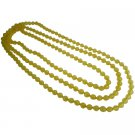 UNE332  Bright Yellow Daffodil Chunky Long Necklace You Will Love It