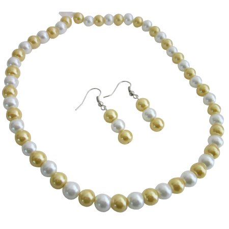 Affordable Inexpensive Nice Quality Jewerly Bright Gold & White