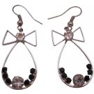 D253 Fashionable Dangle Earrings Affordable Price Bow Shaped