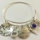 Police Bracelet,Police Bangle, Police Batch Jewelry, Police Theme Bracelet.
