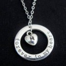Forever in my heart necklace You're Forever In My Heart Necklace,gift for her