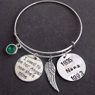 I used to be her angel now she's mine,Mom Memorial,In Memory of Mom Bangle