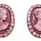 Express Your Love For Your Morther Buying Vintage Cameo Earrings Jewelry