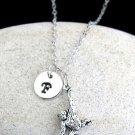 Hanging Monkey Necklace,Personalize Swinging Monkey Pendant Necklace Ape Jewelry