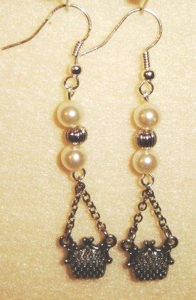 Purse Earrings