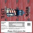 Retirement Candy Bar Wrapper 03