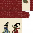Sweet Notes Snowman Couple  01