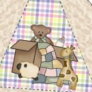 Pie Wedge 2 Piece Box Baby Shower