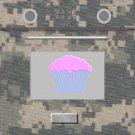Oven Cupcake Box  Camouflage Camo ~ 1 Dozen