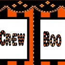 Cupcake Box Halloween Boo Crew 01 ~ 1 Dozen