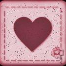 Cupcake Box Valentine's Day Heart 01 ~ 1 Dozen