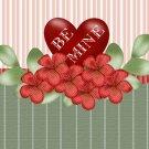 Valentine's Day Gallon Can Set Green Stripe  (8)