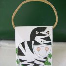 Animal Purse and/or Treat Box  Zebra