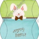 Easter Pillow Purse ~ Easter Bunny Assorted Colors