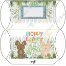 Easter Pillow Boxes ~ Easter Bunny