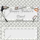 Father's Day Standard Candy Bar Wrapper ~ Happy Father's Day Steel Plating Tools