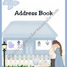"""Address Book 5"""" X 7"""" Size ~  Baby Boy Theme"""