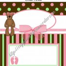 Ladybug Baby Shower Collection Candy Bar Wrapper