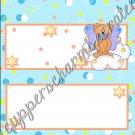 Auqa Angel Bear Candy Bar Wrapper