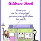 "Address Book 5"" X 7"" Size ~  Daughter Theme"
