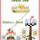 "Address Book 5"" X 7"" Size ~  Country Mom Theme"