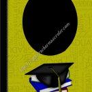 """Brag Book 5"""" X 7"""" Size ~ Olive Green Senior Brag Book"""