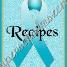 "Recipe Book 5"" X 7"" Size ~ Aqua Awareness Book"