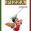 """Recipe Book 5"""" X 7"""" Size ~ Pizza Recipes"""