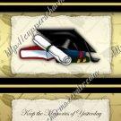 School Days ~ Graduation ~  MINI Candy Bar Wrapper ~ Yesterday's Memories Boy