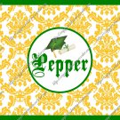 Salt & Pepper Wrappers ~ Graduation Yellow with Green