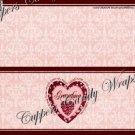 Treat Bag Toppers~ Love Grandma Pink