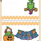A Frogs Halloween Bag Topper