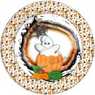 A Bubbly Ghost  Halloween Cupcake Picks & Toppers