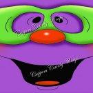 Purple Goblin Halloween Gallon Can Set