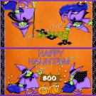 Haunted Witches Halloween  Bag Topper