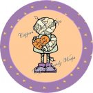 I Miss My Mummy Halloween  Cupcake Picks & Toppers