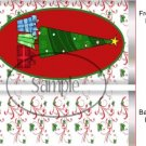 12 Days of Chridstmas (to match the set) Standard Size Candy Bar Wrapper
