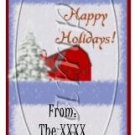 Farm House Holiday Christmas ~ 3 Dozen MINI Candy Bar Wrapper