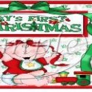 Baby's 1st Christmas Gallon Can Set
