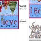 I Believe in Santa Christmas ~ Treat Bag Topper
