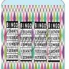 Bingo Card #2 With Daubs Pint Glass Jar Set