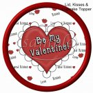Love Me Valentine ~ Valentine's Day Cupcake Picks & Toppers