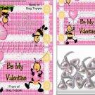 Plaid Valentine ~ Valentine's Day Bag Topper